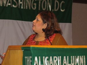 Dr.Afshan Hashmi as an invited speaker in a non-profit organization in Washington DC